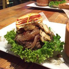 Bluecheese Burger @ La Placita Burger Bar