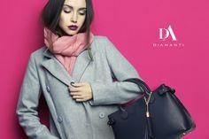 Idei de ținute cu DiAmanti, DiAmanti. Italian Leather Bags. #fashion #diamantibags #diamantilookbook #geanta #handbag My Fair Lady, Fashion Updates, Benetton, Fashion Beauty, Denim, Knitting, My Style, Coat, Jackets