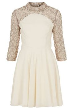 **LIMITED EDITION Pearl Swing Dress from TopShop.  LOVE this!!!  Possible look as Christmas Party hostess