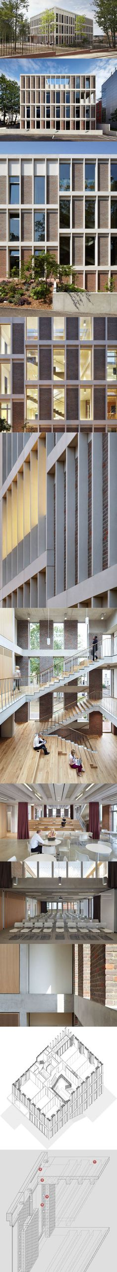 Duggan Morris Architects - ORTUS, home of Maudsley Learning / 2013 / brick…