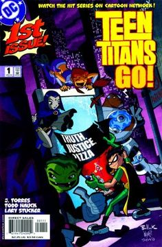 Teen Titans is back!     While the original series may not be returning, a new series titled Teen Titans Go! is now making a appearance on DC Nation, Cartoon Network's block for DC animated shorts on Saturdays 10:00-11:00 a.m. ET/PT. The show will also be joined by many members of the original voice cast of the series.