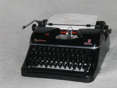 Mechanische Schreibmaschine Optima Elite mechanical typewriter