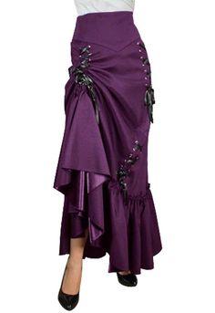 Three Way Lace Up Skirt
