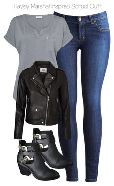 """The Originals - Hayley Marshall Inspired School Outfit"" by staystronng ❤ liked on Polyvore"