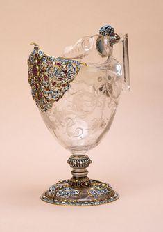 Burghley Collections | A rock crystal ewer, Italian, Miseroni workshop, circa 1600.