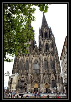 Cologne Cathedral -- I've been there!!! Wish I could go back