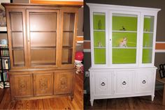 repurposed furniture before and after   before & after