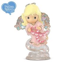 Precious Moments Heavenly Messengers Of Hope Breast Cancer Awareness Figurine Collection - http://www.preciousmomentsfigurines.org/hope/precious-moments-heavenly-messengers-of-hope-breast-cancer-awareness-figurine-collection/