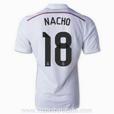 Nueva camiseta de Nacho 1st Real Madrid 2015 baratas