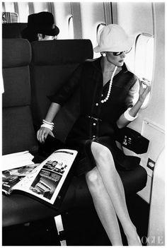 Photographed by Chris von Wangenheim for Vogue, 1973.