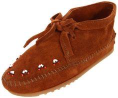 Minnetonka Beaded Moccasin (Toddler/Little Kid/Big Kid) $28.95