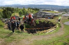 Body in well confirms Viking Saga. Image: The Norwegian Institute for Cultural Heritage Research