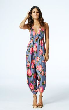 8c573e37486 Genie jumpsuit in grey rose by Dancing Leopard Product photo