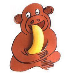aap eet banaan traktatie: een vrolijke kindertraktatie! Monkey eats banana