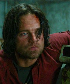 """She had a bandage across her forehead. Red stained the white. He tensed. """"Enough."""" Steve sighed, following Bucky's gaze."""