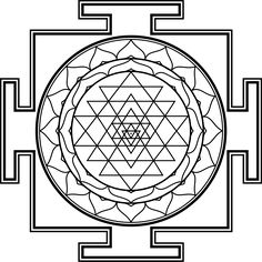 File:The Sri Yantra in diagrammatic form.svg