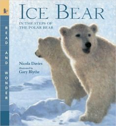 Ice Bear: Read and Wonder: In the Steps of the Polar Bear: Nicola Davies, Gary Blythe: 9780763641498: Amazon.com: Books