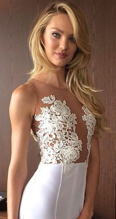 I like that it's not see-thru or sheer.. its lace on nude material