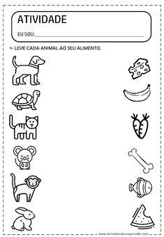Kindergarten Reading Activities, Preschool Writing, Kindergarten Math Worksheets, Preschool Learning Activities, Preschool Lessons, Printable Preschool Worksheets, Worksheets For Kids, Animal Worksheets, Printables