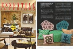 Our ABURI collection featured in Essential Interiors  #africandesign, #africantextiles, #Evasonaike, #africanprints, #africaninteriors, #interiorstyle ,#popularpic, #luxury, #africandecor #cushion #interiors  #interiordesign  #interiorstyle  #popularpic  #architecturelovers  #archilovers  #picoftheday  #picture  #look #mytrendesire  #cool  #africandecor #decorating  #design