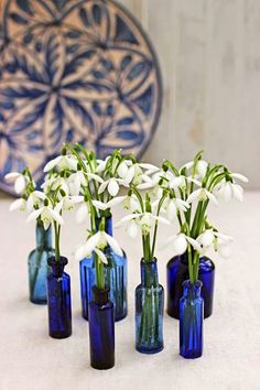 Tiny Blooms-# 8-Snowdrops-Ingrid Henningsson-Of Spring and Summer