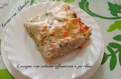 Lasagne+con+salmone+affumicato+e+zucchine