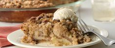 Create tasty apple pie with a crisp, nutty topping the impossibly easy Bisquick® mix way!  There's no crust to roll.