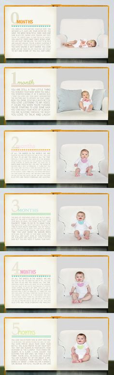 First Year Baby Book. This could also be great for years of school.