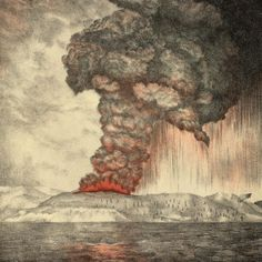 """Fascinating background information about Krakatoa to go along with the book, """"The Twenty-one Balloons used in Sonlight Core C.  """"The Sound So Loud That It Circled the Earth Four Times"""""""