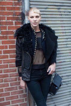 Street Style Fall 2013 - New York Fashion Week Street Style