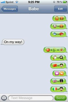 Funny sexual emoji texts