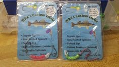 2 hook w/quick change. Crawler hauler. $2.00 each. Any color beads.