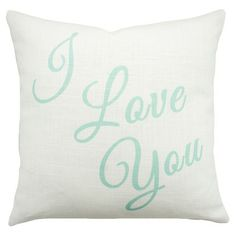 I Love You Pillow.