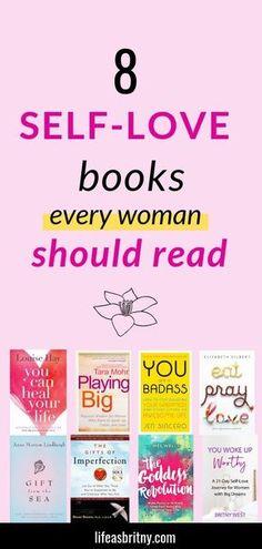 Self Love Books, Feel Good Books, Best Self Help Books, Best Books To Read, Read Books, Books To Read For Women, Books For Teens, Motivational Books, Inspirational Books To Read