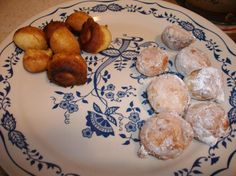 These were the homemade version of timbits in my house while I was growing up. Best eaten the night made, but just as wonderful the day after. Drop Doughnut Recipe, Doughnut Cake, Breakfast Dessert, Breakfast Recipes, Breakfast Ideas, Fritters, Doughnuts, Funnel Cakes, Deep Fryer