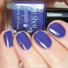 This listing is for one bottle from the Margarita Time Collection. Moonlight Margarita: Rich crème periwinkle / blurple with a linear holo flair  The full siz