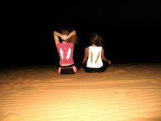 Noche en el desierto de Merzouga y la mejor compañía :) @inmabrea