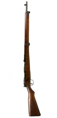 Lot 445: Japanese Type 99 Arisaka Rifle 7.7x58 mm (Serial #67320); WWII era Japanese rifle with intact chrysanthemum, matching bolt number and correct late work features