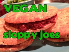 What Vegan Kids Eat: VEGAN Sloppy joes