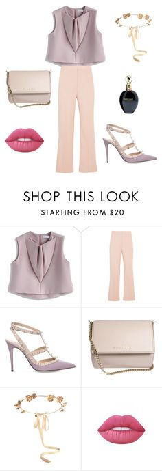 """""""pichy stile"""" by adelina-terecoasa ❤ liked on Polyvore featuring Chicwish, STELLA McCARTNEY, Valentino, Givenchy, Eugenia Kim, Lime Crime and Roberto Cavalli"""