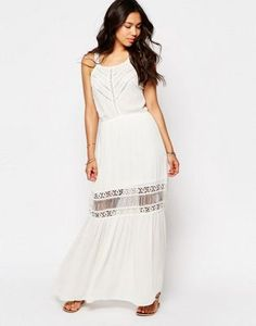 Meghan Fabulous Lilian Lace Maxi Dress