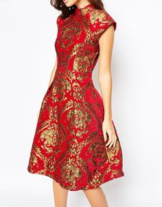 Possible short reception dress if I want to go full Asian-inspired, or Chinese ceremony/reception dress