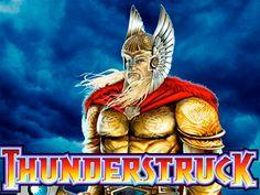 Z pewnością jedna z najbardziej popularnych gier jednoręki bandyta, Thunderstruck of firmy Microgaming. Motyw gry oparty jest o nordyckiego boga burzy i piorunów Thor'a. Pięć bębnów oraz 9 lini wypłat, ciekawe symbole to wszystko co oferuje gra Thunderstruck!
