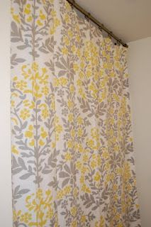 Make a shower curtain from a tablecloth? Done and Done!