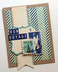 love this card. love the stamps on it.