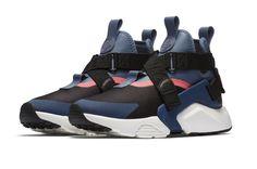 Nike WMNS Air Huarache City Black Navy Coming Soon
