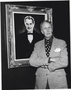 Vincent Price Horror Monsters, Scary Monsters, Famous Monsters, Horror Icons, Horror Films, Haunted Movie, Celebrity Stars, Classic Horror Movies, Invisible Man