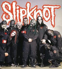 Slipknot remain the most innovative metal band in the world. Almost a decade since their stunning debut, they have caused more controversy than most groups a. Clear Lake Iowa, Metal Music Bands, Slipknot Band, Slipknot Corey Taylor, Chris Fehn, Craig Jones, Mick Thomson, Dubuque Iowa, Sid Wilson