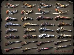 Pirates Assualt ranged weapons by sash4all on DeviantArt