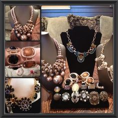 Jewelry galore! Perfect details for fall looks! #accessories #jewelry #womens #fashion #fall #yesplease
